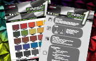 Finish 1™ Factory Packaged Color Card