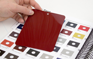 Tinting Support Promotional image color swatch matching book